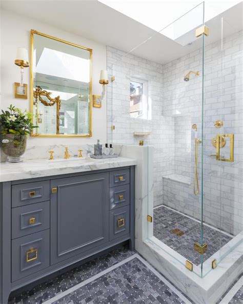 Bathroom Fixtures San Francisco by Splendid White Marble Tile Bathroom With Counter Traditional