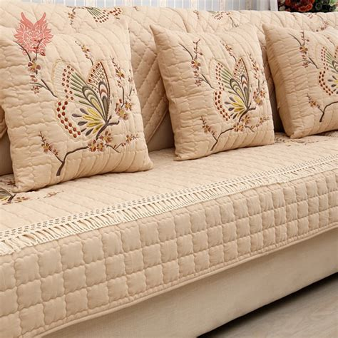 Furniture Covers For Couches And Loveseats by Pastoral Butterfly Embroidered Sofa Cover Slipcovers