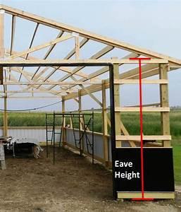 Pole Building Plans  Following Directions