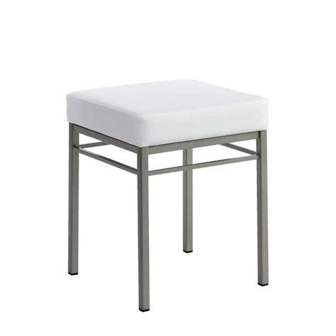 tabouret de cuisine tabouret bas de cuisine en métal quadra 4 pieds tables chaises et tabourets