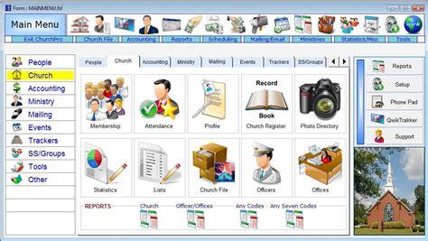 software  churches web church management