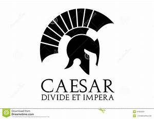 Caesar Logo Stock Illustration - Image: 47894291
