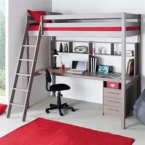 Lit Mezzanine Bureau Enfant : choisir un lit mezzanine pour une chambre d 39 enfant blog but ~ Teatrodelosmanantiales.com Idées de Décoration
