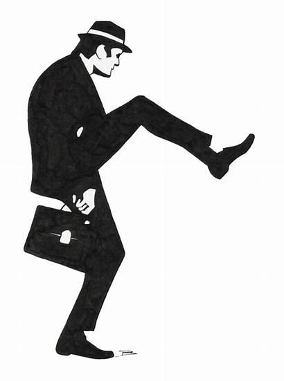 Silly Walks Ministry Walk Python Monty Aanhoudingen