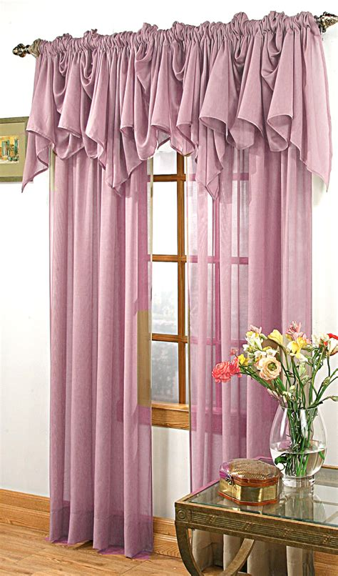 Sheer Draperies - splendor sheer curtain plum stylemaster view all