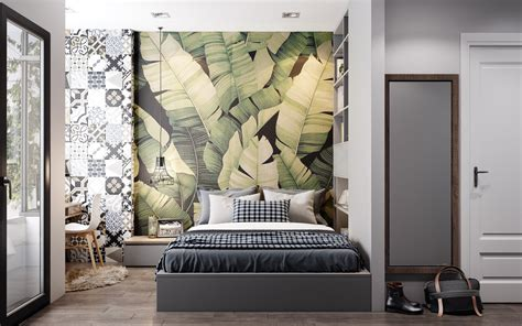 Digital Wallpaper For Bedroom by 44 Awesome Accent Wall Ideas For Your Bedroom