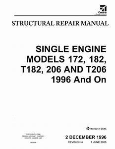 Cessna Single Engine Model 172  182  T182  206  U0026 T206