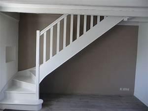 Escalier peint en taupe veglixcom les dernieres idees for Meuble peint couleur taupe 6 realisations escalier relooke venelles