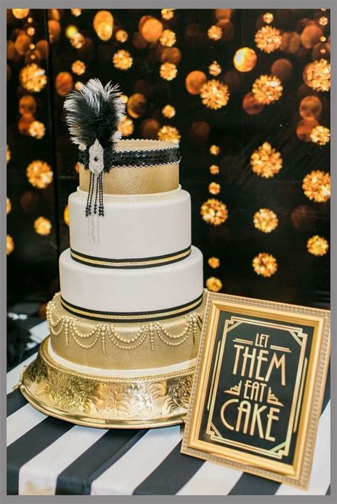 terrific gatsby  themed party  wedding concepts