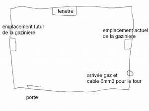 Changer Gicleur Gaziniere Four : changer emplacement arriver de gaz et prise four ~ Dode.kayakingforconservation.com Idées de Décoration