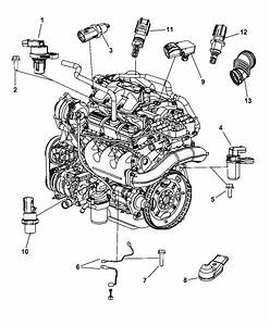 2008 Dodge Grand Caravan Sensors - Engine