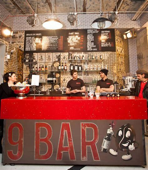 bar coffee branding  reluctant hero newcastle