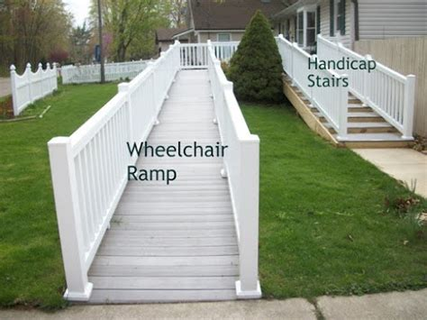 walker handicap stairs    wheelchair ramp universal design  accessible homes