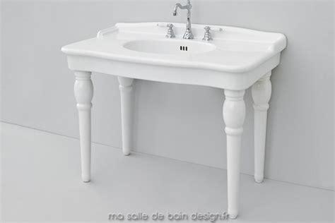 lavabo sur pied table lavabo r 233 tro avec pieds c 233 ramique hermitage 112 par artceram