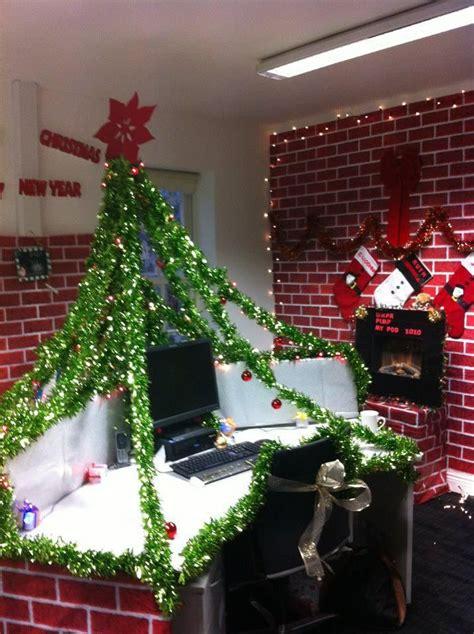 ideas  office christmas decorations