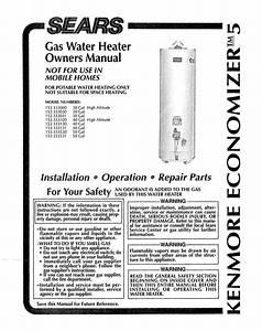 Water Heater Owner U0026 39 S Manual
