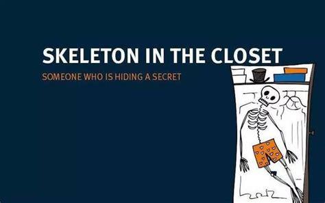Skeleton In The Closet Idiom by 万圣节idioms 学俗语也能很刺激 第1页 苏州英格莱英语 教育 西祠胡同