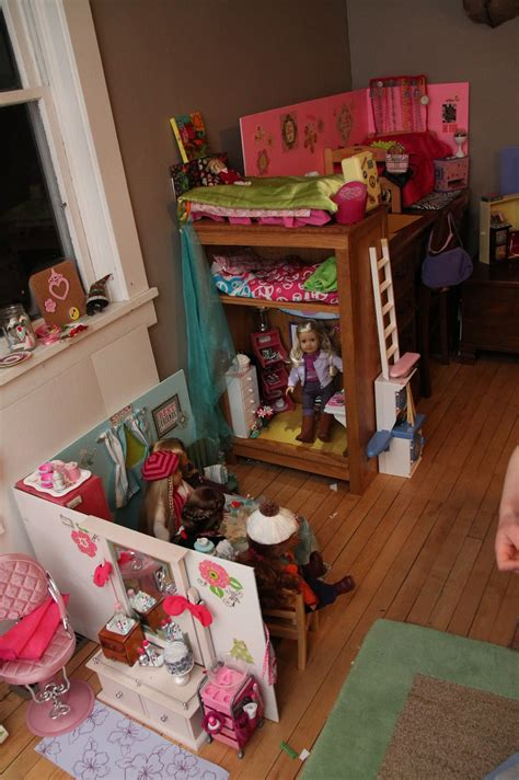 American Girl Doll Play A Look At Lily's Doll Room