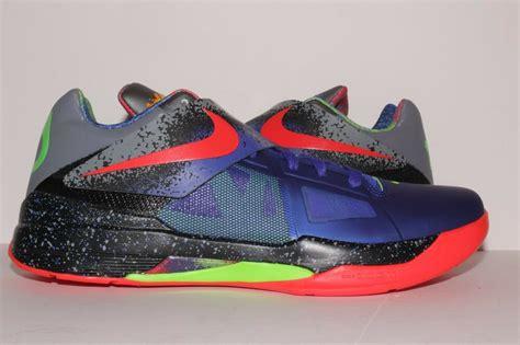 Nike Zoom Kd Iv 4 Nerf 517408-400 Sz 11 Pe Galaxy