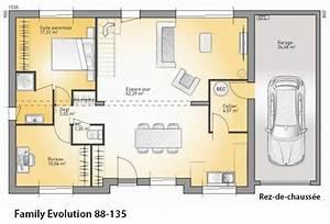 decoration plan maison france confort 21 aulnay sous With plan maison france confort