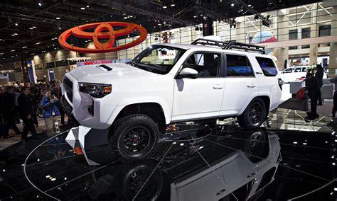 toyota rolls   trail ready trd pro trucks