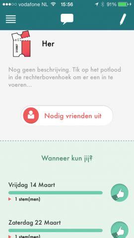 wepopp voor iphone  simpele nederlandstalige datumprikker