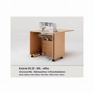 Meuble Deux Portes : meuble rangement machine coudre ou surjeteuse extend deux portes rauschenberger europ 39 distri ~ Teatrodelosmanantiales.com Idées de Décoration