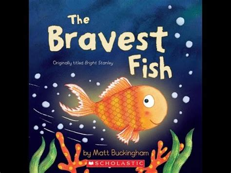 books about fish for preschoolers the bravest fish read along aloud story book for children 263