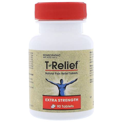 MediNatura, T-Relief, Extra Strength, Homeopathic, Natural ...