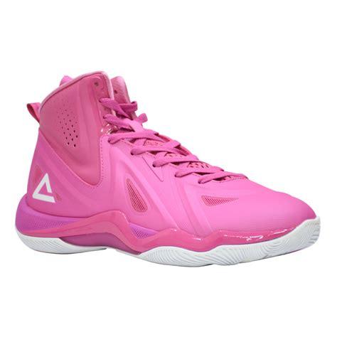 peak basketball shoe pnk