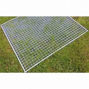 Grille Caillebotis Acier Galvanisé : grille caillebotis acier galvanis antid rapant 1000 x 1000 mm ~ Edinachiropracticcenter.com Idées de Décoration