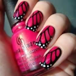 Photos of the cute pink nail art designs