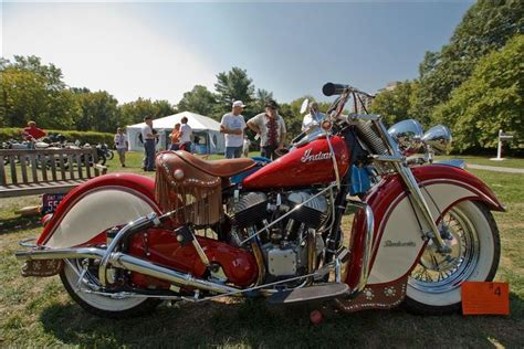 1948 Indian Motorcycle By Brian M Doucette