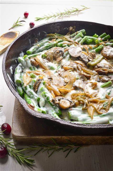 white wine green bean casserole   scratch shock