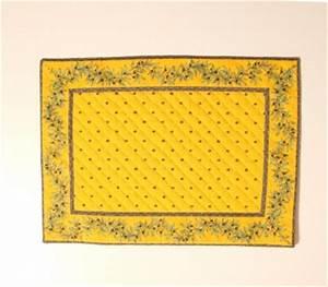 Set De Table Jaune : set de table cadre 48x35 cm calissons olivettes jaune flot gul d kkeserviet med olivenbort ~ Teatrodelosmanantiales.com Idées de Décoration