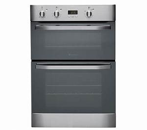 Buy Hotpoint Dhs53xs Electric Double Oven