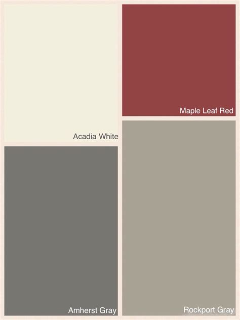benjamin colours for exterior of house colour