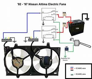How To Wire Electric Fans  92-97 Altima