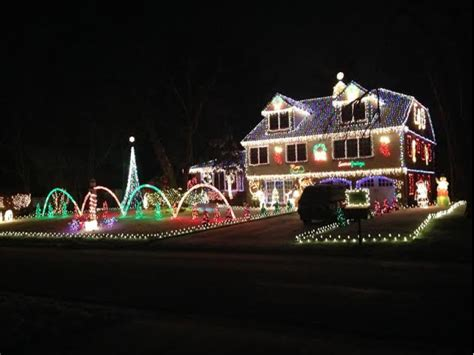 lights shining on house images