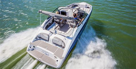 Boat Rear Swim Platform by Yamaha 212 Limited Review Boat