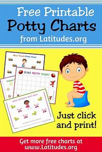 Printable Potty Training Charts For Kids