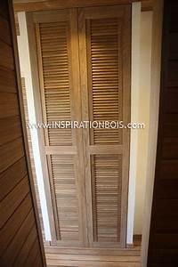 Meuble Persienne : porte de placard salle de bain fleur de passion ~ Melissatoandfro.com Idées de Décoration