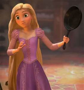 Fanpop - LisaForde2's Photo: Rapunzel with a frying pan