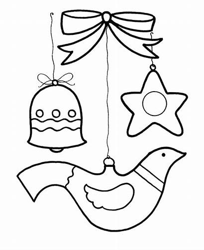 Coloring Christmas Pages Ornament Ornaments Learning Printable