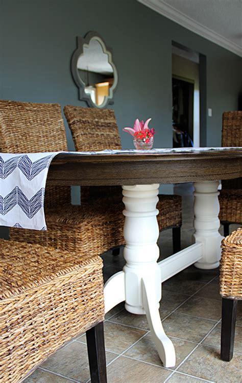 hometalk diy refinish   oak table