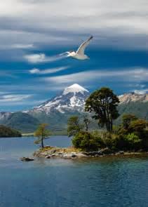 Lanin Volcano Argentina Patagonia