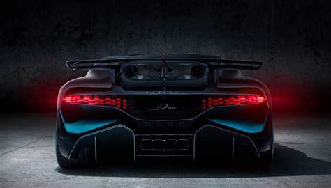 Bugatti Présente La Divo Qui Intègre Des Pièces Imprimées
