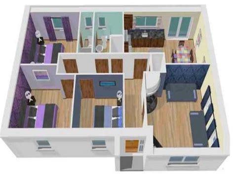 contoh desain rumah sederhana  kamar tidur minimalis