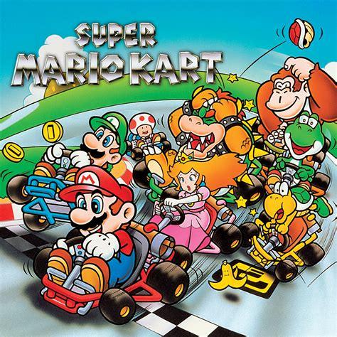 Super Mario Kart Super Nintendo Games Nintendo
