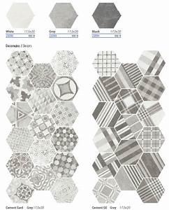 Carreaux De Ciment Hexagonaux : carrelage hexagonal ciment vieilli montpellier carrelage design le comptoir de c ram ~ Melissatoandfro.com Idées de Décoration